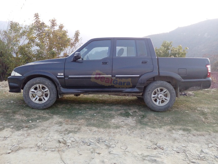 ssyangyang musso double cab on sale