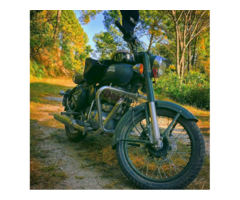 Royal Enfield battle green 500