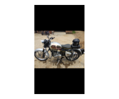 Excellent royal Enfield 350 silver