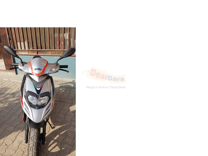 Aprilia SR 125 for sale( 2018 model, 99 lot and very new)