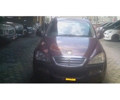 GOOD Condition ssangyong kyron for sale in good rate.hurry up.