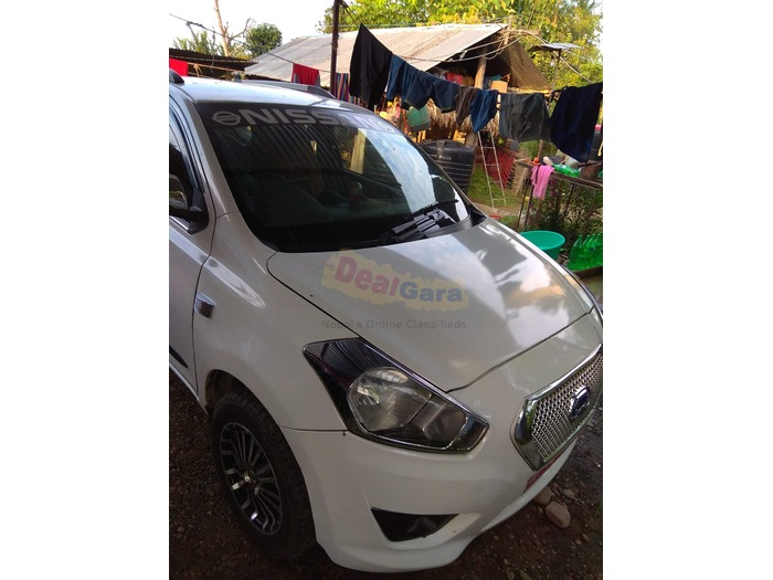 Datsun go plus 7 lakh bank  2016 model