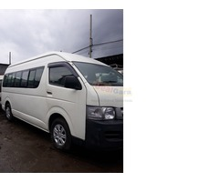 Toyota Jumbo Hiace with route permit