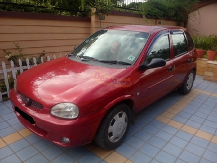 2005 opel corsa sail 1 6 price rs 6 25 000 kathmandu. Black Bedroom Furniture Sets. Home Design Ideas