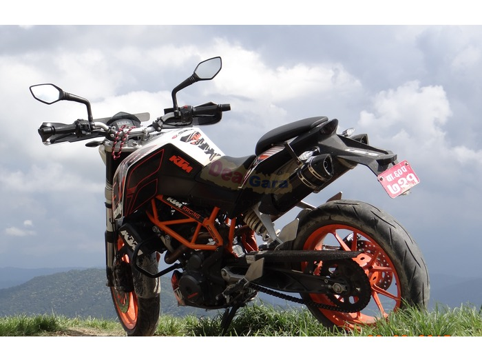2014 ktm duke 390 abs powerparts dual exhaust 8500 kms. Black Bedroom Furniture Sets. Home Design Ideas