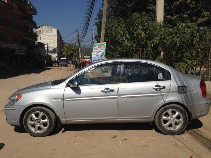 hyundai accent 2007 for sale price rs 14 00 000 kathmandu nepal. Black Bedroom Furniture Sets. Home Design Ideas
