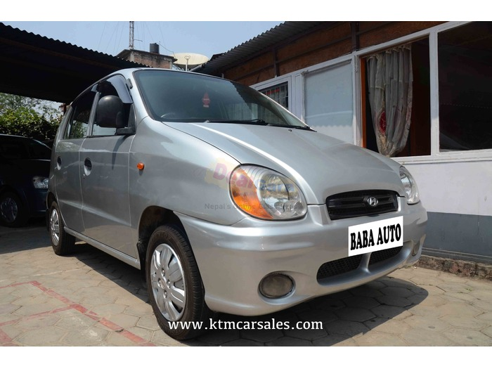 hyundai santro 2002 with a c power steering price rs 6 50 000 kathmandu nepal dealgara com dealgara com