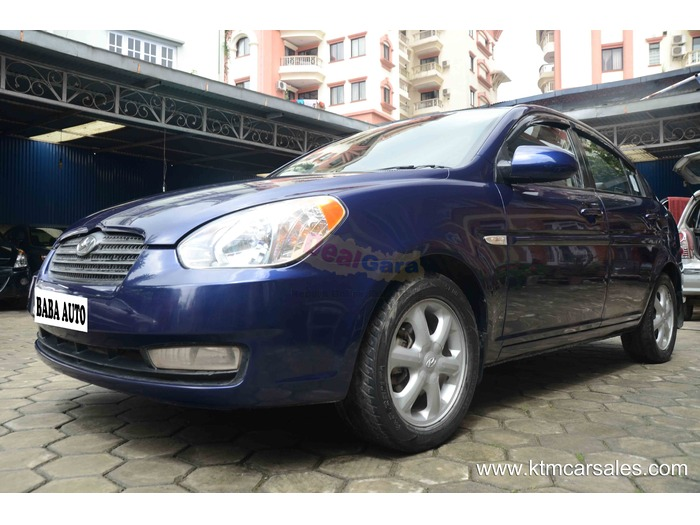 hyundai accent 2008 price rs 14 25 000 kathmandu nepal. Black Bedroom Furniture Sets. Home Design Ideas