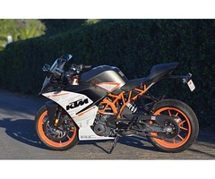 RC 390 2016 9 months warranty and insurance Left