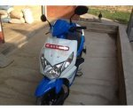 FRESH DIO SCOOTER BLUE-WHITE ON SALE