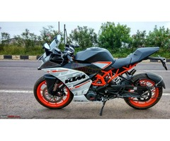 KTM RC390 - just 1500km gone and absolutely new!!!!