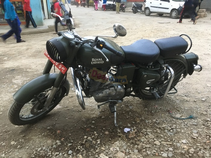 Royal Enfield Classic 500 CC Battle Green for sals